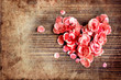 valentin day vintage background