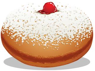 Sufganiyah Hanukkah Donut