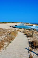 Llevant Beaches in Formentera, Balearic Islands, Spain
