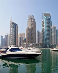 Bateau à la Dubai Marina