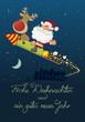 Weihnachtskarte deutsch