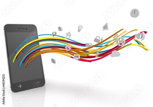 media smartphone