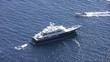 Luxury private yacht anchored in Capri Island