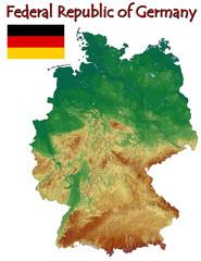 Germany Europe national emblem map symbol motto