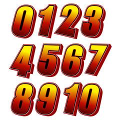 数字セット