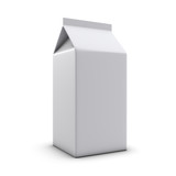 3d Small Juice Carton