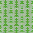Christmas knitted background, seamless pattern included