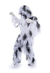 Karneval – Yeti – Tarnanzug