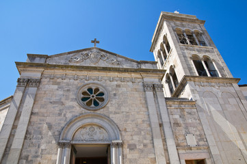 Church of St. Michele. Sant'Agata di Puglia. Puglia. Italy.