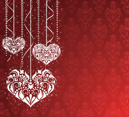 Valentine's day backround.