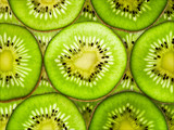 Ripe kiwi fruit as background