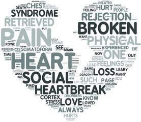 Broken Heart Concetp