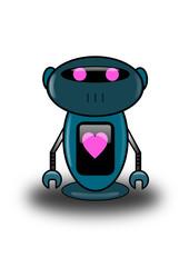 Robot et coeur