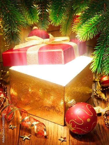 Leinwandbild Motiv Christmas