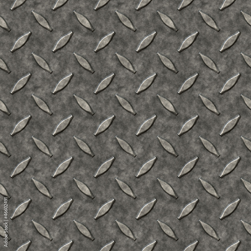 Diamond Plate Metal Pattern