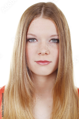 canvas print picture Hübscher blonder Teenager