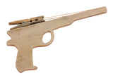 old rubber band gun