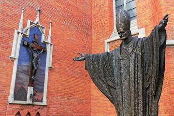 Jesus und der Pabst