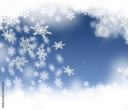 Schnee - Schneeflocken, Eiskristalle