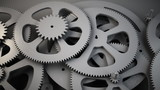 Series of cogs working together