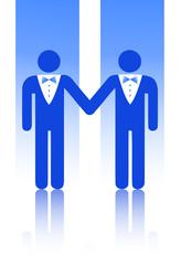 Mariage homosexuel entre hommes