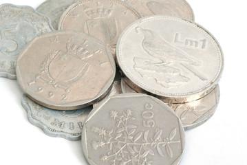 old malta coins
