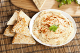Fresh Made Organic Hummus