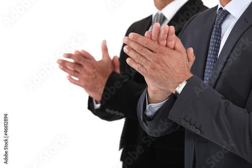 Applauding