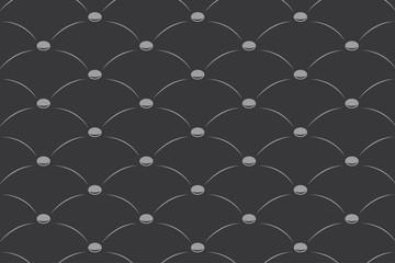 illustration of upholstery pattern-dark grey