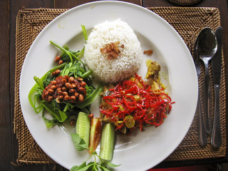 nasi lemack inodesian food bali