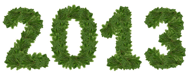 2013, christmas tree font.