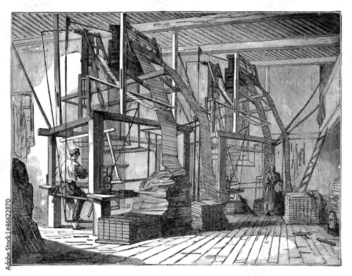 Jacquard Machine - 19th century