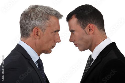businessmen having a quarrel