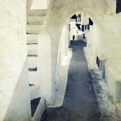 white passage