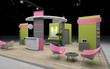 exibition stand - 46625627