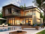 Fototapete Familie - Architektur - Haus