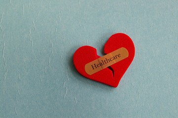 healthcare heart