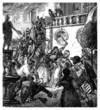 French Revolution : People killing Aristocrats - 18th century