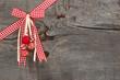 Holz - als weihnachtliche Kulisse
