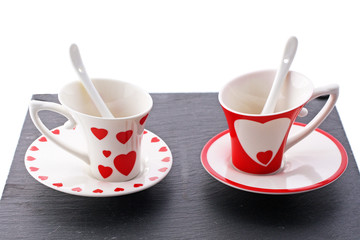 Tasses pour amoureux