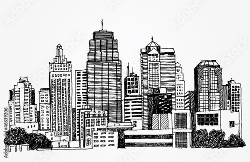 Sketch of Big City