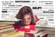 Stressed Teenage Student