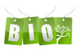bio tree tags illustration