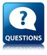 QUESTIONS Blue Square Button
