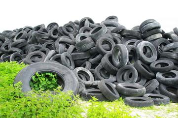 petits et gros pneus