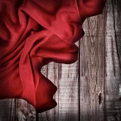 fondo tessuto e legno