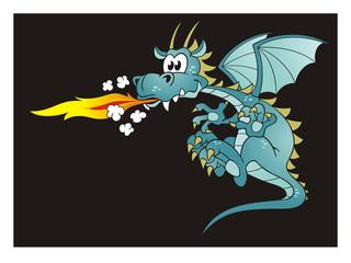 Fire Spitting Dragon