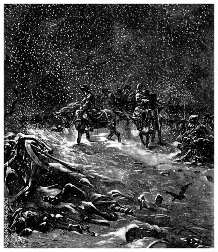 Napoleonic War : Russia Retreat (1812)