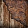 fondo vintage legno su legno