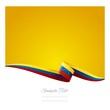 Abstract color background Venezuelan flag vector